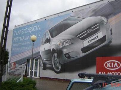 Montaż / Demontaż reklam